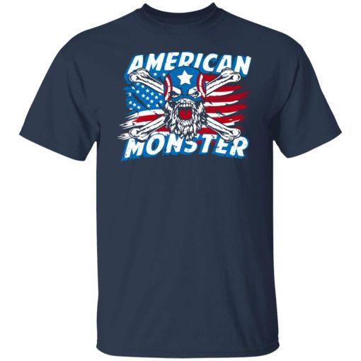 Robert Oberst American Monster Captain T-Shirts, Hoodies, Long Sleeve