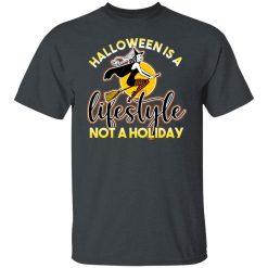 Womens Retro Ephemera Style Halloween Is A Lifestyle Not A Holiday T-Shirts, Hoodies, Long Sleeve