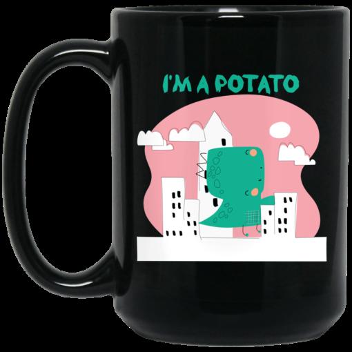 Cool Riddles For Kids I'm A Potato Mug