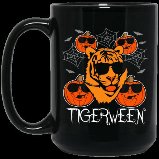 Safari Halloween Tiger Mug