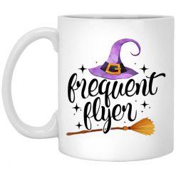 Frequent Flyer Broomstick Halloween Mug