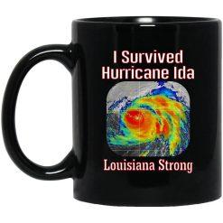 I Survived Hurricane Ida Louisiana Strong Mug