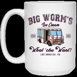 Big Worm's Ice Cream What 'chu Want Mug