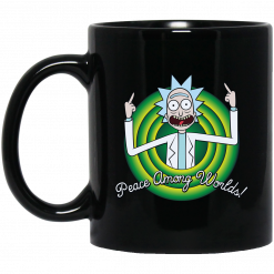 Peace Among Worlds Rick And Morty Mug