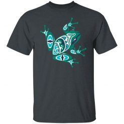 Frog Pacific Northwest Native American Indian Style Art T-Shirts, Hoodies, Long Sleeve