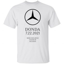 Kanye West – Donda – 7.22.21 Mercedes T-Shirts, Hoodies, Long Sleeve