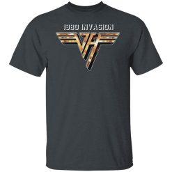 Van Halen 1980 Invasion T-Shirts, Hoodies, Long Sleeve
