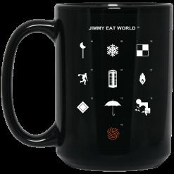 Jimmy Eat World Surviving Icons Mug