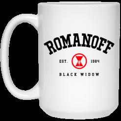 Romanoff Est 1984 – Black Widow 2021 Mug