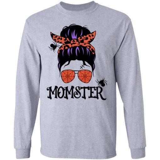 Momster Halloween Shirt For Mom T-Shirts, Hoodies, Long Sleeve