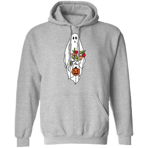 Floral Ghost Halloween Spooky T-Shirts, Hoodies, Long Sleeve