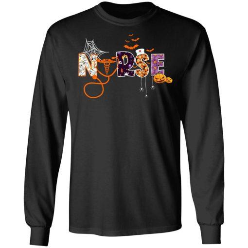 Halloween Nurse Nursing Tee T-Shirts, Hoodies, Long Sleeve