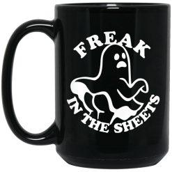 Freak In The Sheets Halloween Mug