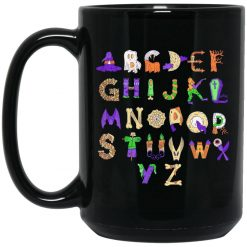 Halloween Alphabet For Teachers Mug