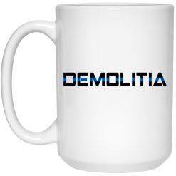Demolition Ranch Demolitia Back The Blue Mug