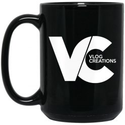 Ross Creations Vlog Creations Logo Mug